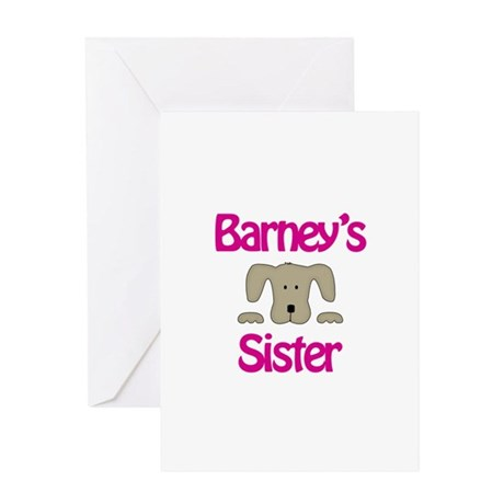Barney's Sister Greeting Card