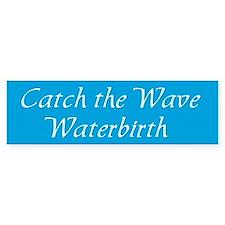 Water Birth Advocacy Bumper Bumper Sticker