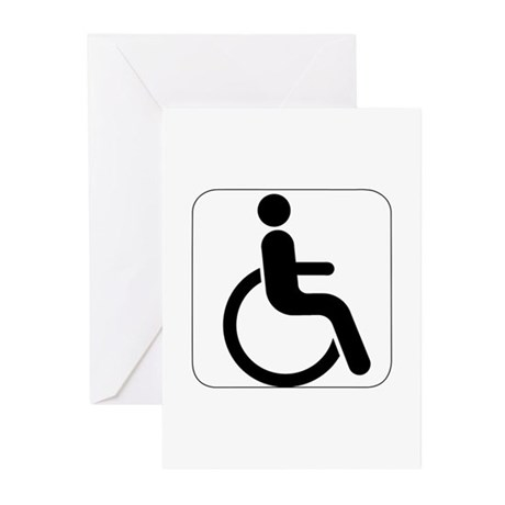 Handicapped Greeting Cards (Pk of 10)