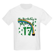 St. Patrick's Day March 17th Birthday T-Shirt