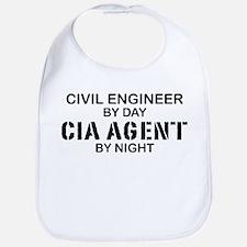 Civil Engineer CIA Agent Bib