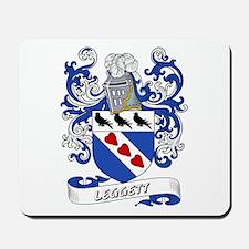 Leggett Coat of Arms Mousepad
