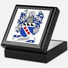 Leggett Coat of Arms Keepsake Box