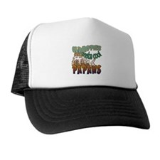 OLD HIPPIES MAKE COOL PAPAWS Trucker Hat