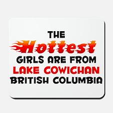 Hot Girls: Lake Cowicha, BC Mousepad