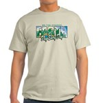 Earth Day Be The Change Light T-Shirt