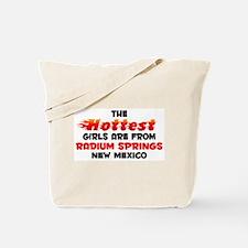 Hot Girls: Radium Sprin, NM Tote Bag