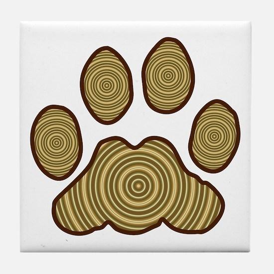 Big Paw Tile Coaster
