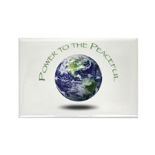 Power to the Peaceful Rectangle Magnet