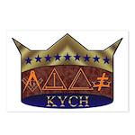 Masonic K.Y.C.H. Postcards (Package of 8)