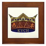 Masonic K.Y.C.H. Framed Tile