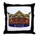 Masonic K.Y.C.H. Throw Pillow