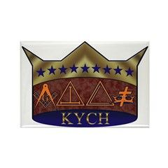 Masonic K.Y.C.H. Rectangle Magnet (100 pack)