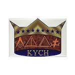 Masonic K.Y.C.H. Rectangle Magnet (10 pack)