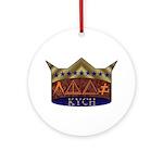 Masonic K.Y.C.H. Ornament (Round)