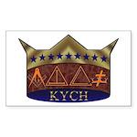 Masonic K.Y.C.H. Rectangle Sticker
