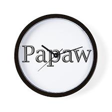 CLICK TO VIEW Papaw Wall Clock
