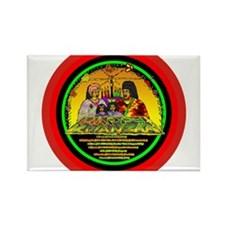 Cute Kwanzaa Rectangle Magnet (10 pack)