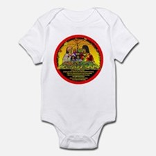 Cute Happy kwanzaa Infant Bodysuit
