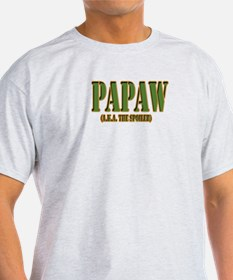 Click to view PAPAW military T-Shirt