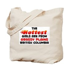 Hot Girls: Grassy Plain, BC Tote Bag