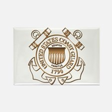 USCG Rectangle Magnet (10 pack)