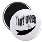 I Love summer Magnet