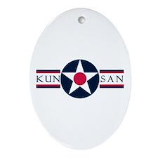 Kunsan Air Base Oval Ornament