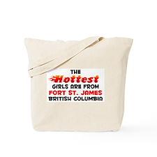 Hot Girls: Fort St. Jam, BC Tote Bag