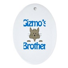 Gizmo's Brother Oval Ornament