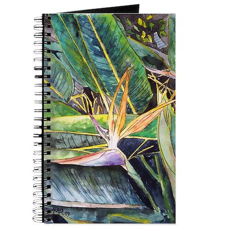 Bird of Paradise Flower Journal