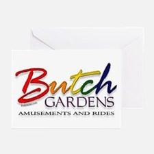 Butch Gardens Greeting Cards (Pk of 10)