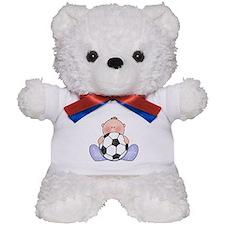Lil Soccer Baby Boy Teddy Bear