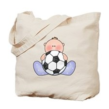 Lil Soccer Baby Boy Tote Bag