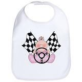 Baby racing Cotton Bibs