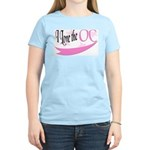 I Love the OC Women's Pink T-Shirt