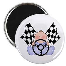 Lil Race Winner Baby Boy Magnet