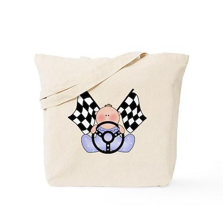 Lil Race Winner Baby Boy Tote Bag