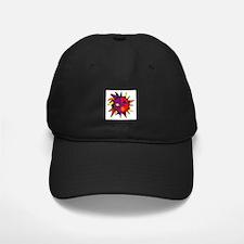 Abstract Gay Pride Sun Baseball Hat