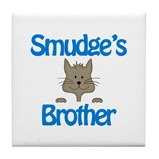 Smudge's Brother Tile Coaster