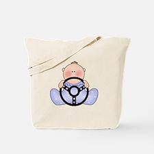 Lil Race Baby Boy Tote Bag
