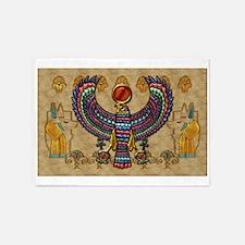 Harvest Moons Egypt Hawk 5'x7'Area Rug