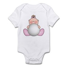 Lil Golf Baby Girl Infant Bodysuit
