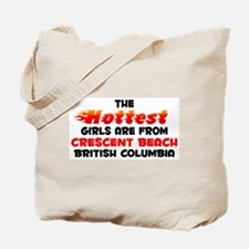 Hot Girls: Crescent Bea, BC Tote Bag
