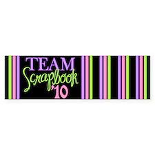 Team Scrapbook '10 Bumper Sticker