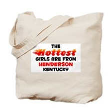 Hot Girls: Henderson, KY Tote Bag