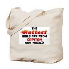 Hot Girls: Capitan, NM Tote Bag