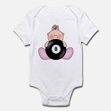 Lil Billiards Baby Girl Infant Bodysuit