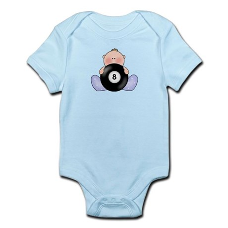 Lil Billiards Baby Boy Infant Bodysuit