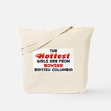 Hot Girls: Bowser, BC Tote Bag